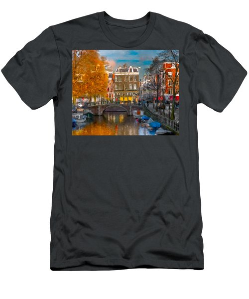 Prinsengracht 807. Amsterdam Men's T-Shirt (Athletic Fit)