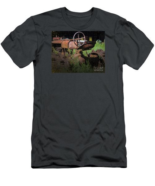 Put Out To Pasture Men's T-Shirt (Slim Fit) by JRP Photography