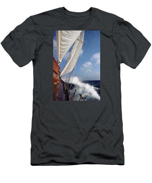 Rail Down Men's T-Shirt (Athletic Fit)