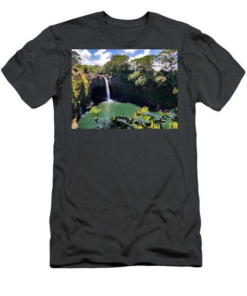 Rainbow Falls Men's T-Shirt (Athletic Fit)