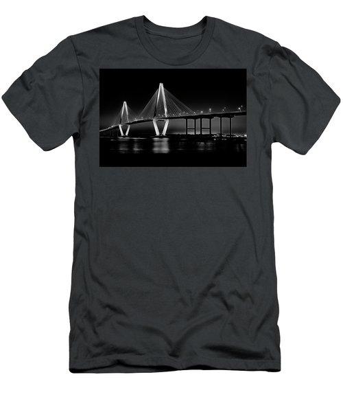 Ravenel Bridge Men's T-Shirt (Slim Fit) by Bill Barber