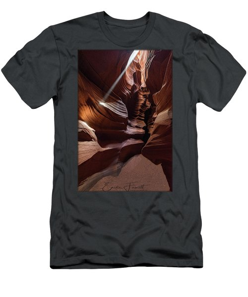 Ray Of Light Men's T-Shirt (Athletic Fit)