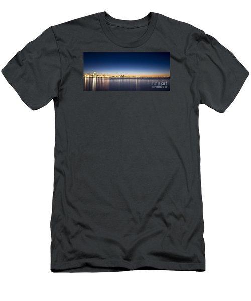 Reykjavik Iceland Men's T-Shirt (Slim Fit) by Gunnar Orn Arnason