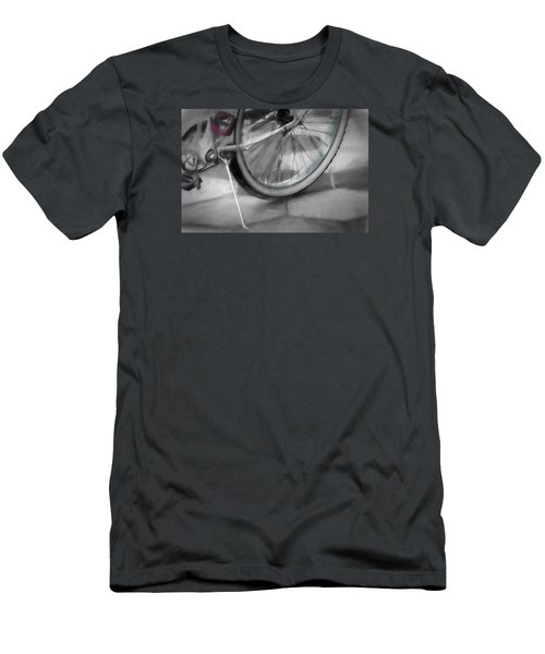 Men's T-Shirt (Slim Fit) featuring the photograph Ride With Me by Carolyn Marshall