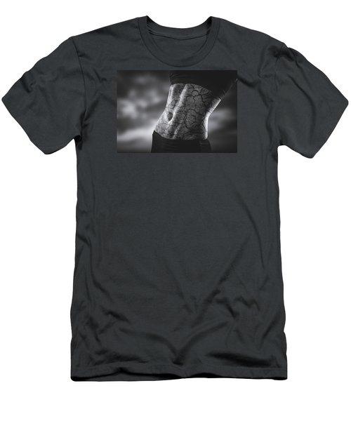 Rock Solid Abs Men's T-Shirt (Slim Fit) by Scott Meyer