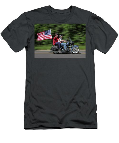 Rolling Thunder Men's T-Shirt (Athletic Fit)