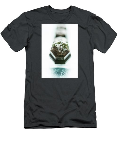 Rosemary Chocolate Men's T-Shirt (Slim Fit) by Sabine Edrissi