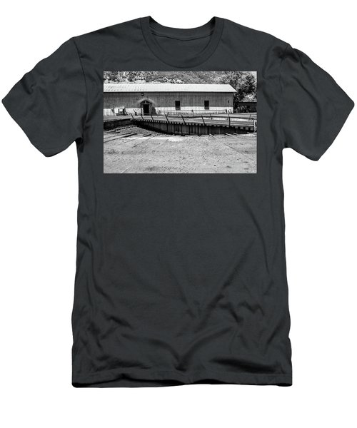 Men's T-Shirt (Athletic Fit) featuring the photograph Round And Round by Colleen Coccia
