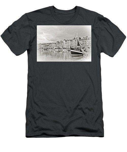 Safe Harbor Men's T-Shirt (Slim Fit) by Catherine Alfidi