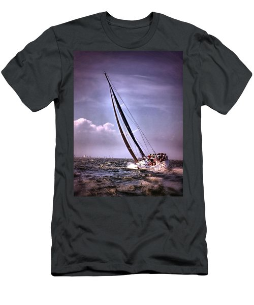 Sailing To Nantucket 003 Men's T-Shirt (Athletic Fit)