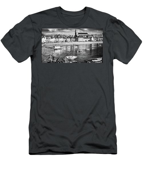 Men's T-Shirt (Athletic Fit) featuring the photograph Saint Servan Anse by Elf Evans