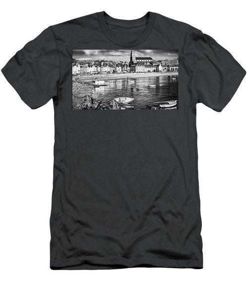 Men's T-Shirt (Athletic Fit) featuring the photograph Saint Servan Anse by Elf Evans