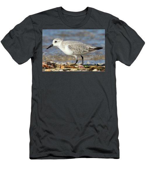 Sanderling Westhampton New York Men's T-Shirt (Slim Fit) by Bob Savage