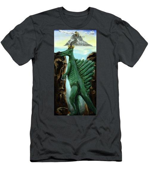 Self-portrait- Meme Men's T-Shirt (Athletic Fit)