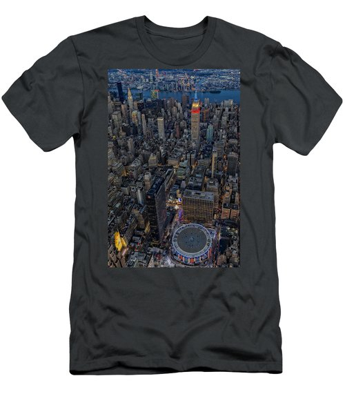 September 11 Nyc Tribute Men's T-Shirt (Athletic Fit)