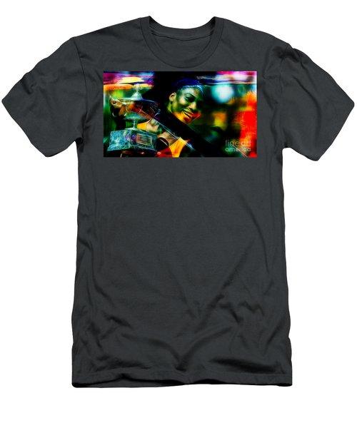 Serena Williams Men's T-Shirt (Athletic Fit)