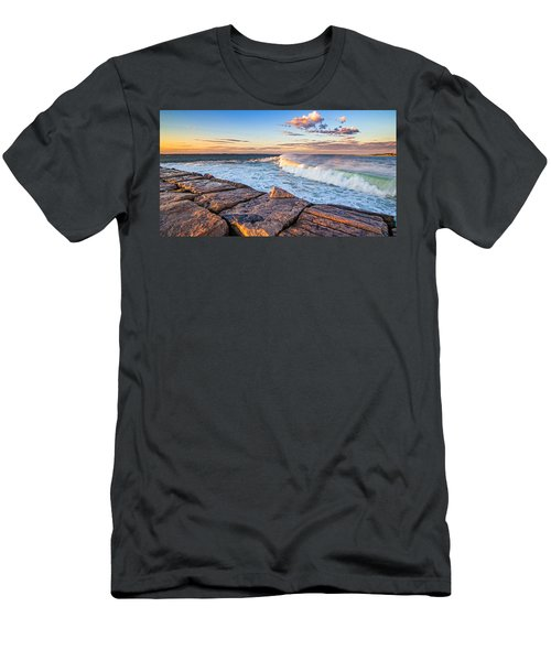 Shinnecock Inlet Surf Men's T-Shirt (Athletic Fit)