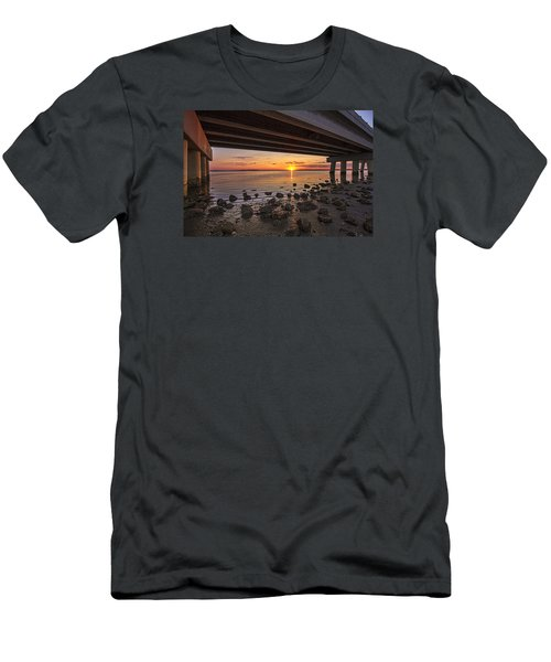 Shinnecock Sunset Men's T-Shirt (Athletic Fit)
