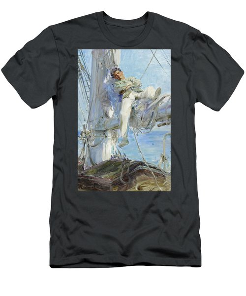 Sleeping Sailor Men's T-Shirt (Athletic Fit)