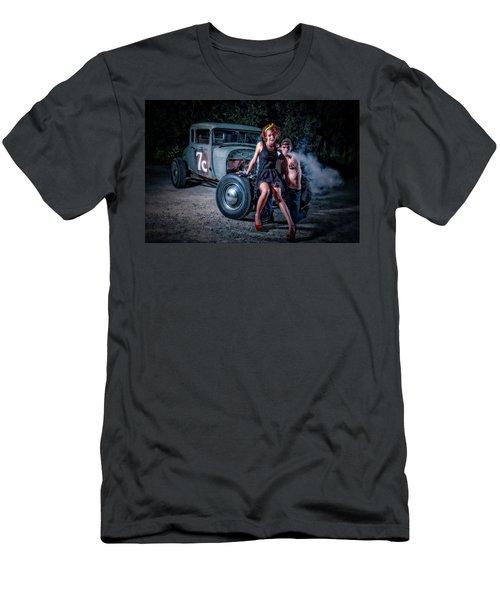 Smoke Men's T-Shirt (Athletic Fit)