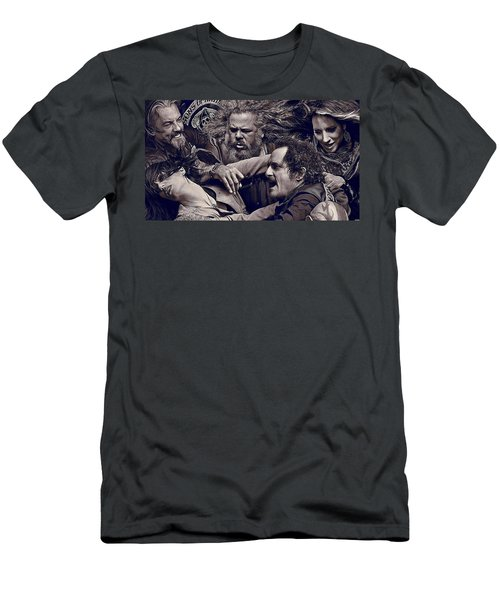 Sons Of Anarchy  Men's T-Shirt (Athletic Fit)