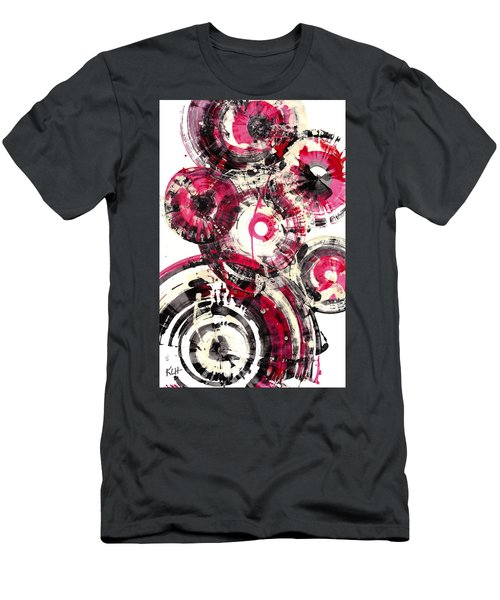 Men's T-Shirt (Athletic Fit) featuring the painting Sphere Series 1025.050412 by Kris Haas