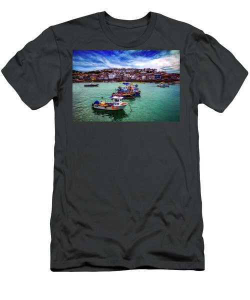 St Ives Harbor Men's T-Shirt (Athletic Fit)