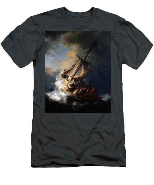 Storm On The Sea Of Galilee Men's T-Shirt (Athletic Fit)