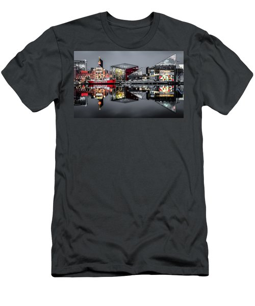 Stormy Night In Baltimore Men's T-Shirt (Athletic Fit)