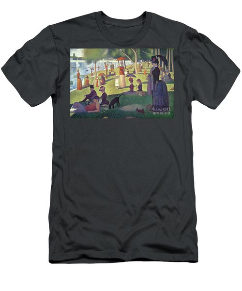 Sunday Afternoon On The Island Of La Grande Jatte Men's T-Shirt (Athletic Fit)