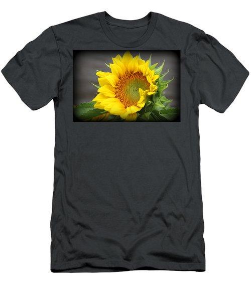 Sunflower Beauty Men's T-Shirt (Athletic Fit)