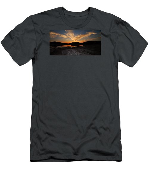 Sunset In Sardinia Men's T-Shirt (Athletic Fit)