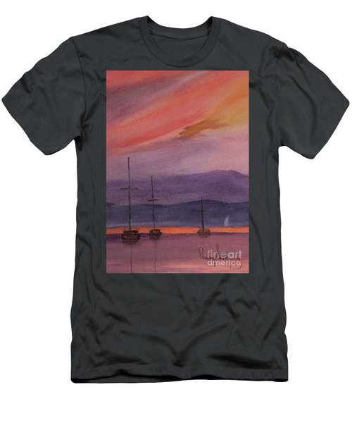 Sunset On Madeline Island Men's T-Shirt (Athletic Fit)