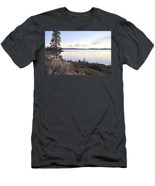 Tahoe Shoreline Men's T-Shirt (Athletic Fit)