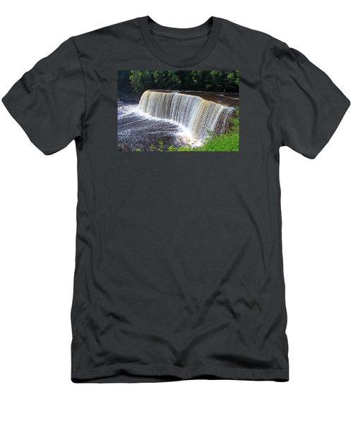 Tahquamenon Upper Falls IIi Men's T-Shirt (Athletic Fit)