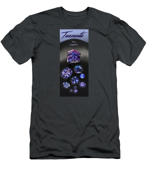 Tanzanite Brochure Men's T-Shirt (Athletic Fit)