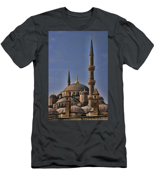 The Blue Mosque In Istanbul Turkey Men's T-Shirt (Athletic Fit)