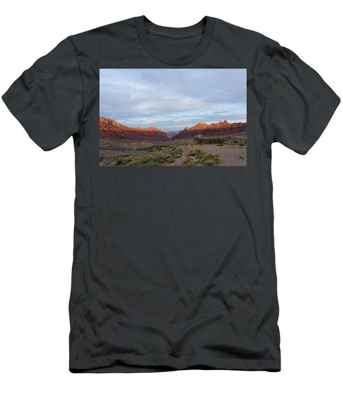 The Castles Near Green River Utah Men's T-Shirt (Athletic Fit)