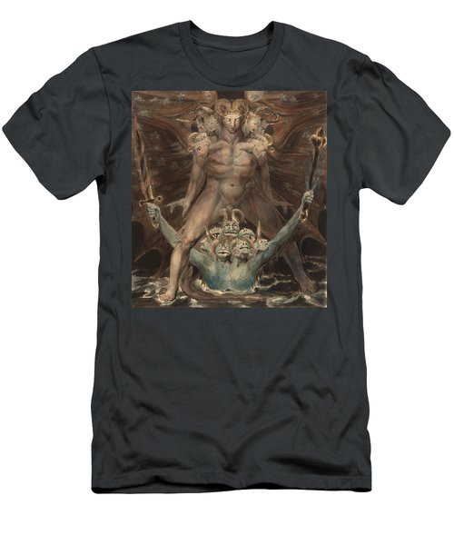 The Great Red Dragon And The Beast From The Sea Men's T-Shirt (Athletic Fit)
