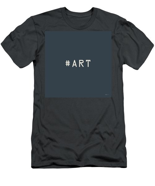 The Meaning Of Art - Hashtag Men's T-Shirt (Slim Fit) by Serge Averbukh
