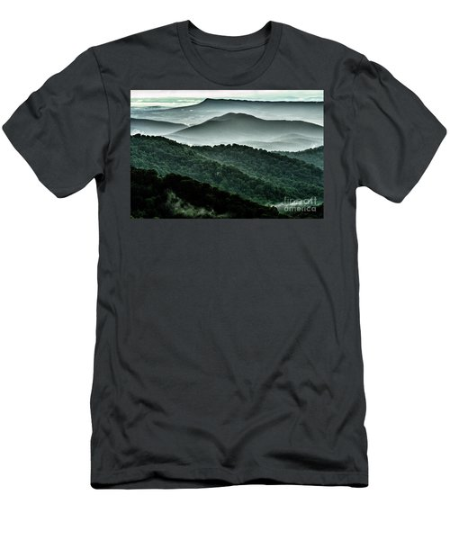 The Point Overlook Men's T-Shirt (Slim Fit) by Thomas R Fletcher