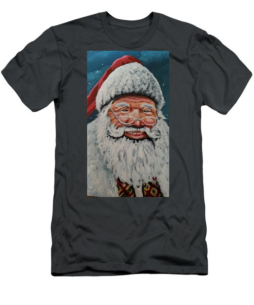 The Real Santa Men's T-Shirt (Athletic Fit)