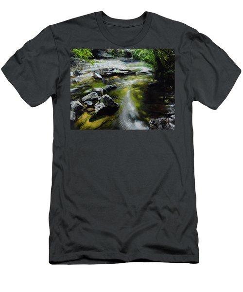 The River At Lady Bagots Men's T-Shirt (Athletic Fit)
