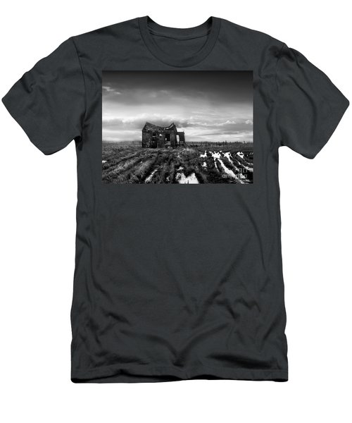 Men's T-Shirt (Slim Fit) featuring the photograph The Shack by Dana DiPasquale
