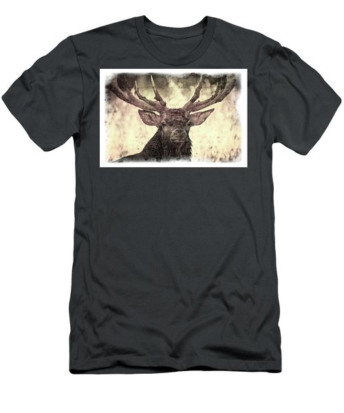 The Stag Men's T-Shirt (Athletic Fit)