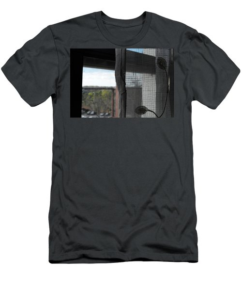 Men's T-Shirt (Athletic Fit) featuring the photograph The View From The Window by W And F Kreations
