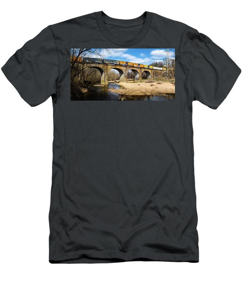 Thomas Viaduct Panoramic Men's T-Shirt (Athletic Fit)