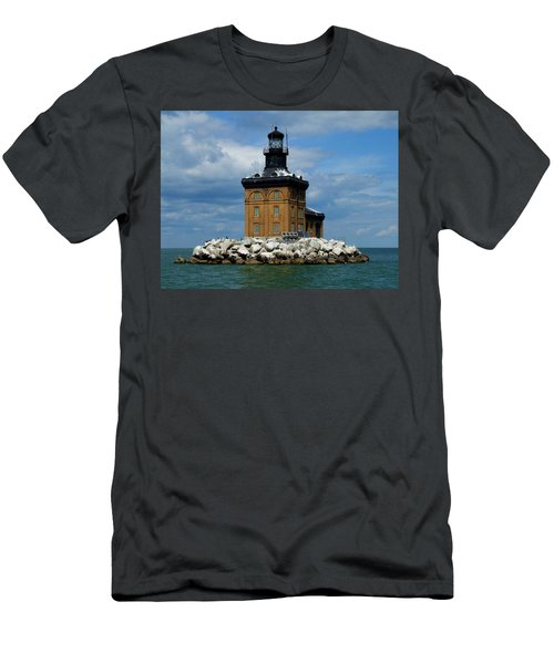 Toledo Harbor Lighthouse Men's T-Shirt (Athletic Fit)