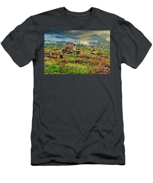 Tornado Truck Men's T-Shirt (Athletic Fit)