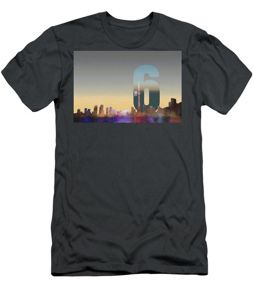 Toronto Skyline - The Six Men's T-Shirt (Athletic Fit)